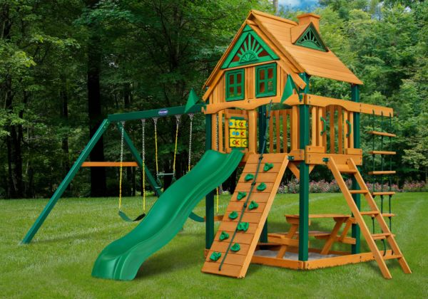 horizon treehouse w fort add on swing set playnation orlando. Black Bedroom Furniture Sets. Home Design Ideas