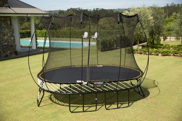 Springfree Medium Oval Smart Trampoline Playnation Orlando