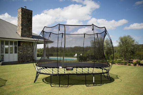 Springfree Large Oval Smart Trampoline Playnation Orlando